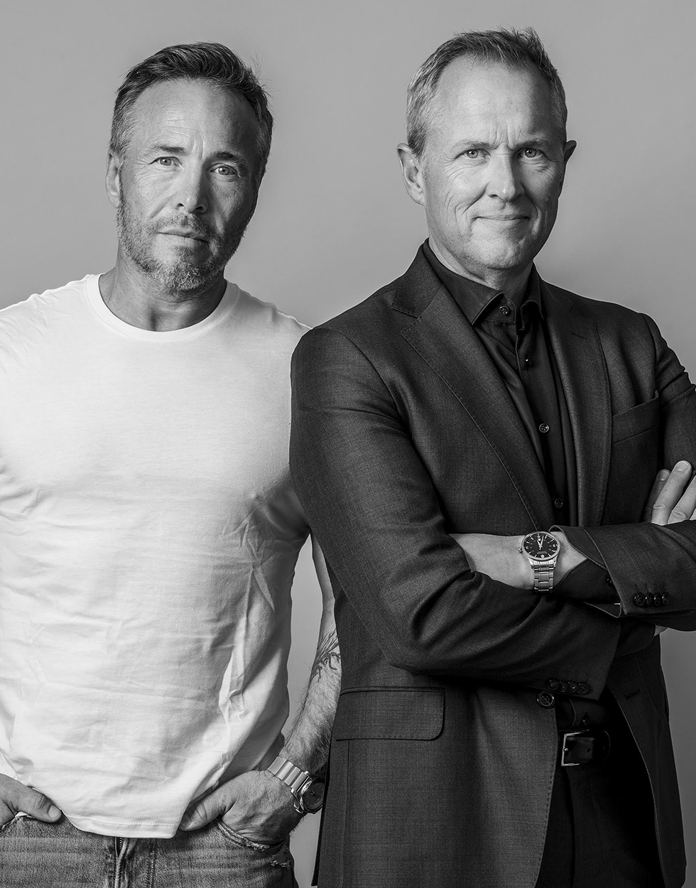 Michael Andreassen<br>og Per Henrik Stenstrøm